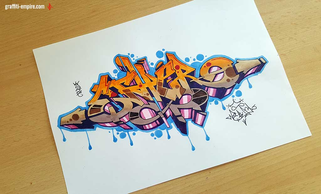 How To Draw Graffiti For Beginners Graffiti Empire