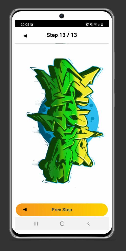 Graffiti app - graffiti tutorial