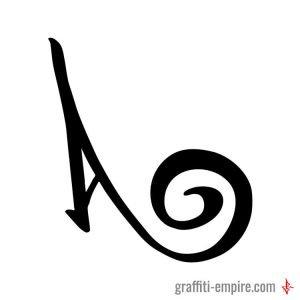 A Graffiti Letter