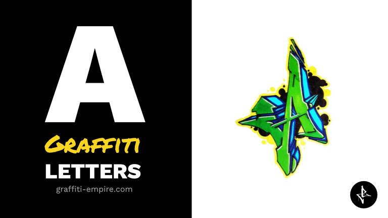 A graffiti letters thumbnail graphic