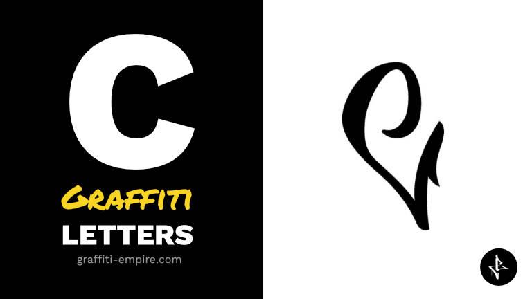 C graffiti letters thumbnail graphic