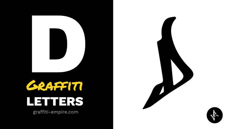 D graffiti letters thumbnail graphic