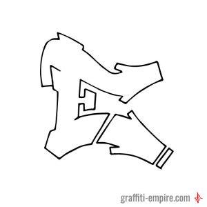 Sem Wildstyle E Graffiti Letter