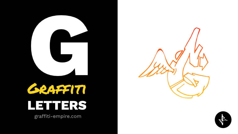 G graffiti letters thumbnail graphic
