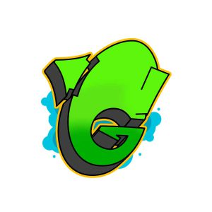 How to draw graffiti letter G tutorial step 6 graphic