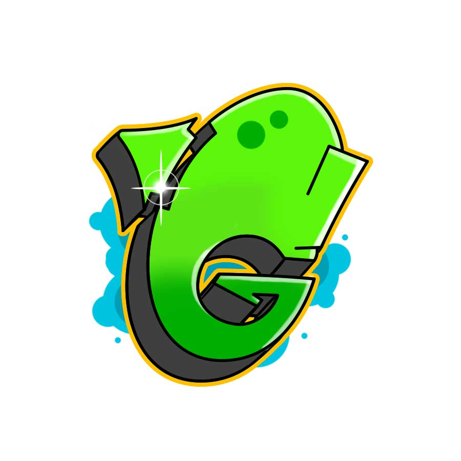 How to draw graffiti letter G tutorial step 7 graphic