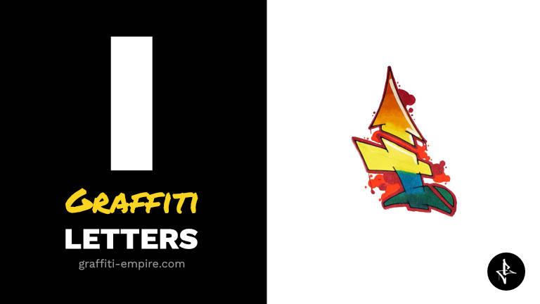 I graffiti letters thumbnail graphic