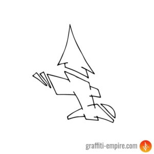 Semi-Wildstyle I Graffiti Letter