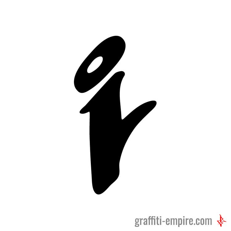 graffiti letter i small i graffiti letter graffiti empire 22004
