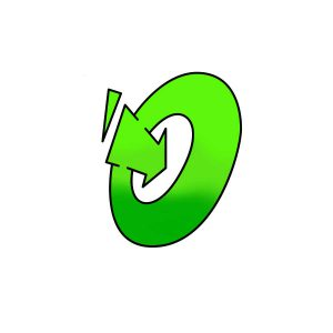 How to draw graffiti letter O tutorial step 4 graphic