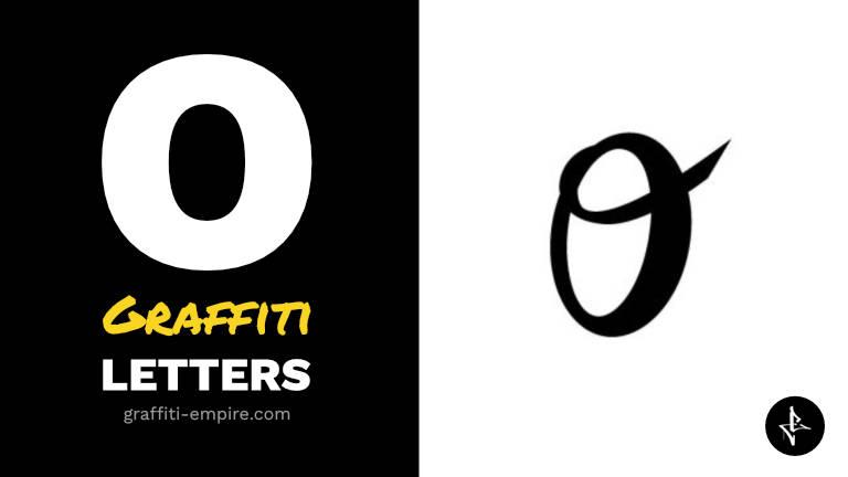 O graffiti letters thumbnail graphic