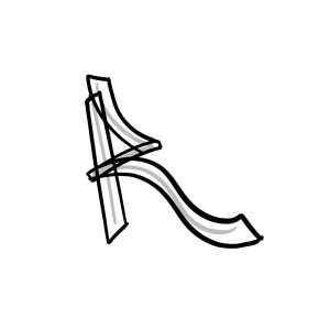 How to draw graffiti letter R tutorial step 2 graphic