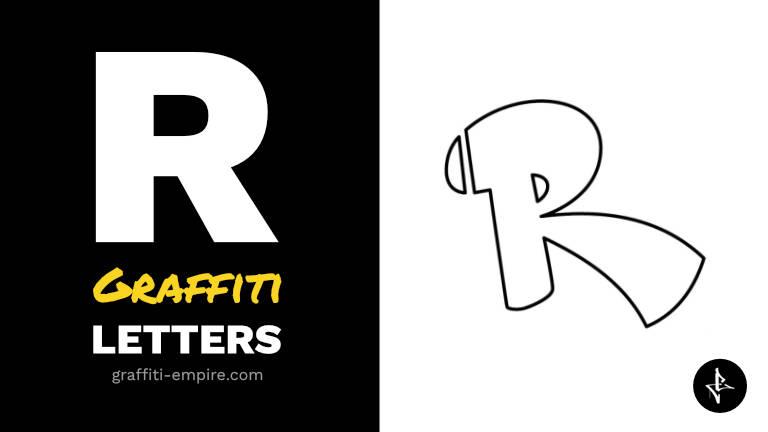 R graffiti letters thumbnail graphic