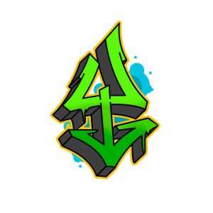 How to draw graffiti letter Y tutorial step 6 graphic