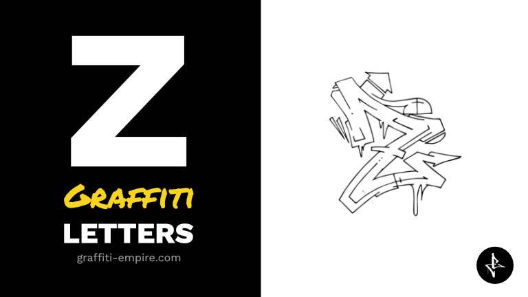 Z graffiti letters thumbnail graphic