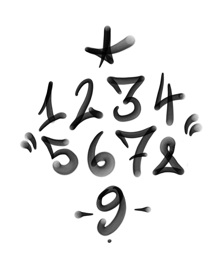 Graffiti numbers