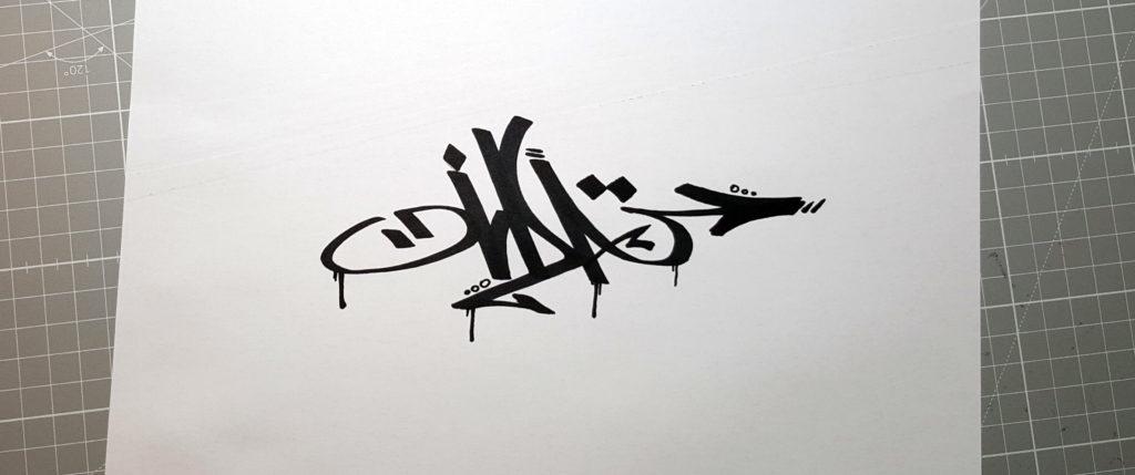Oida Handstyle Graffiti Tag