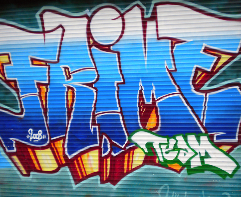 "Graffiti spotting: ""Frime"" Simple Style Graffiti in Brussels"