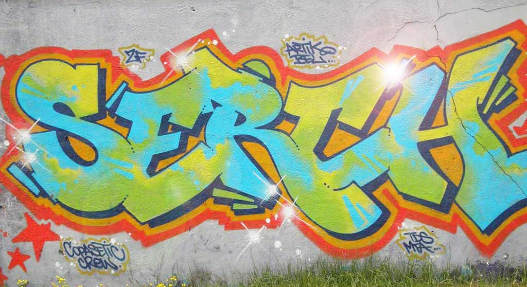 Simple Style Graffiti