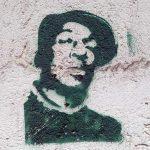 Stencil Graffiti Dude spotted in Sopron