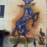 Streetart Horse in New Zeland