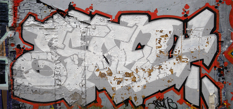 Graffiti Spotting: Semi-Wildstyle Graffiti from the Netherlands