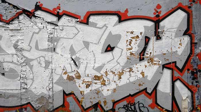 Graffiti Spotting: Semi-Wildstyle Graffiti from the Netherlands