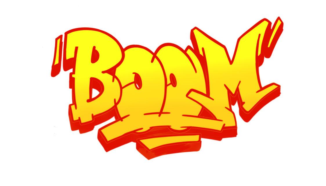 Boom Graffiti Sketching - Step 11 graphic