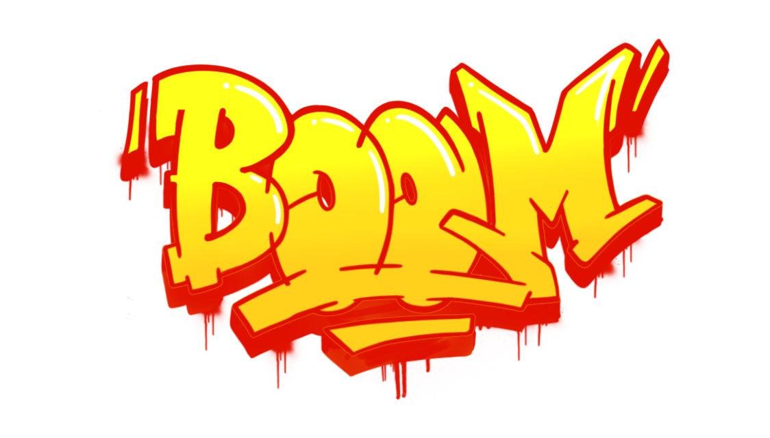 Boom Graffiti Sketching - Step 13 graphic