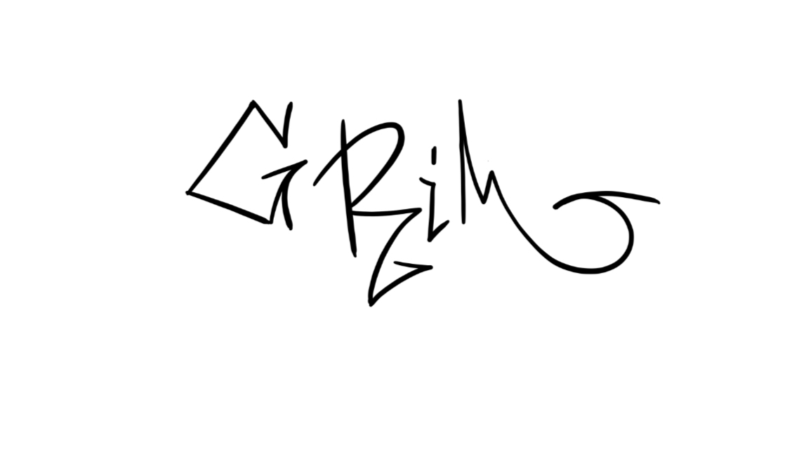 Grim Graffiti Sketch Tutorial Step 1 graphic