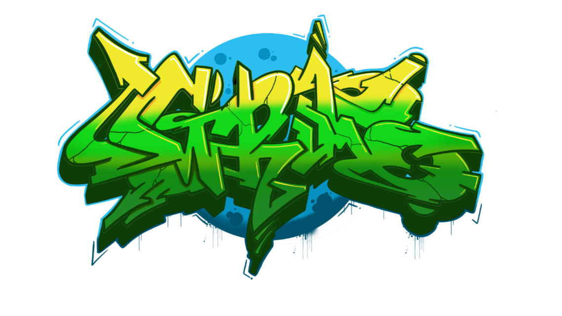 "How to draw ""Grim"" in Graffiti in 13 steps"