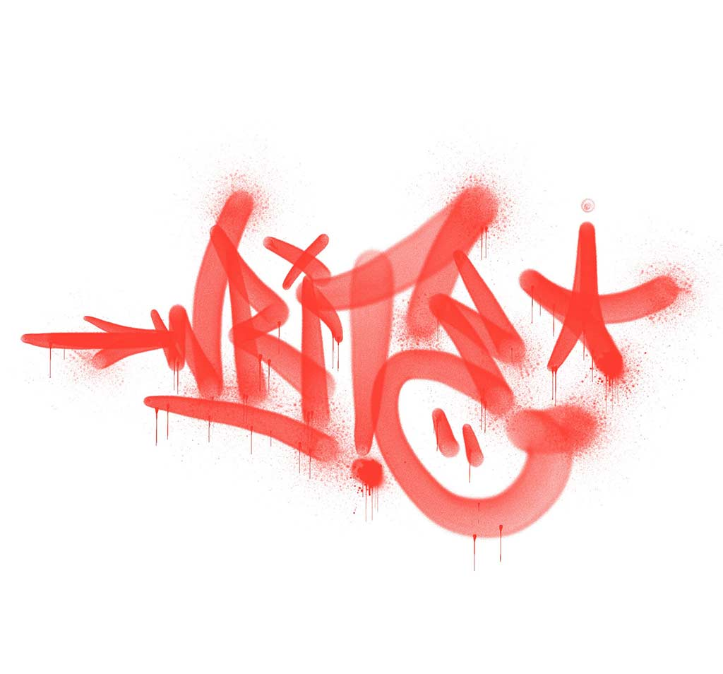 write Handstyle done with Procreate for Ipad