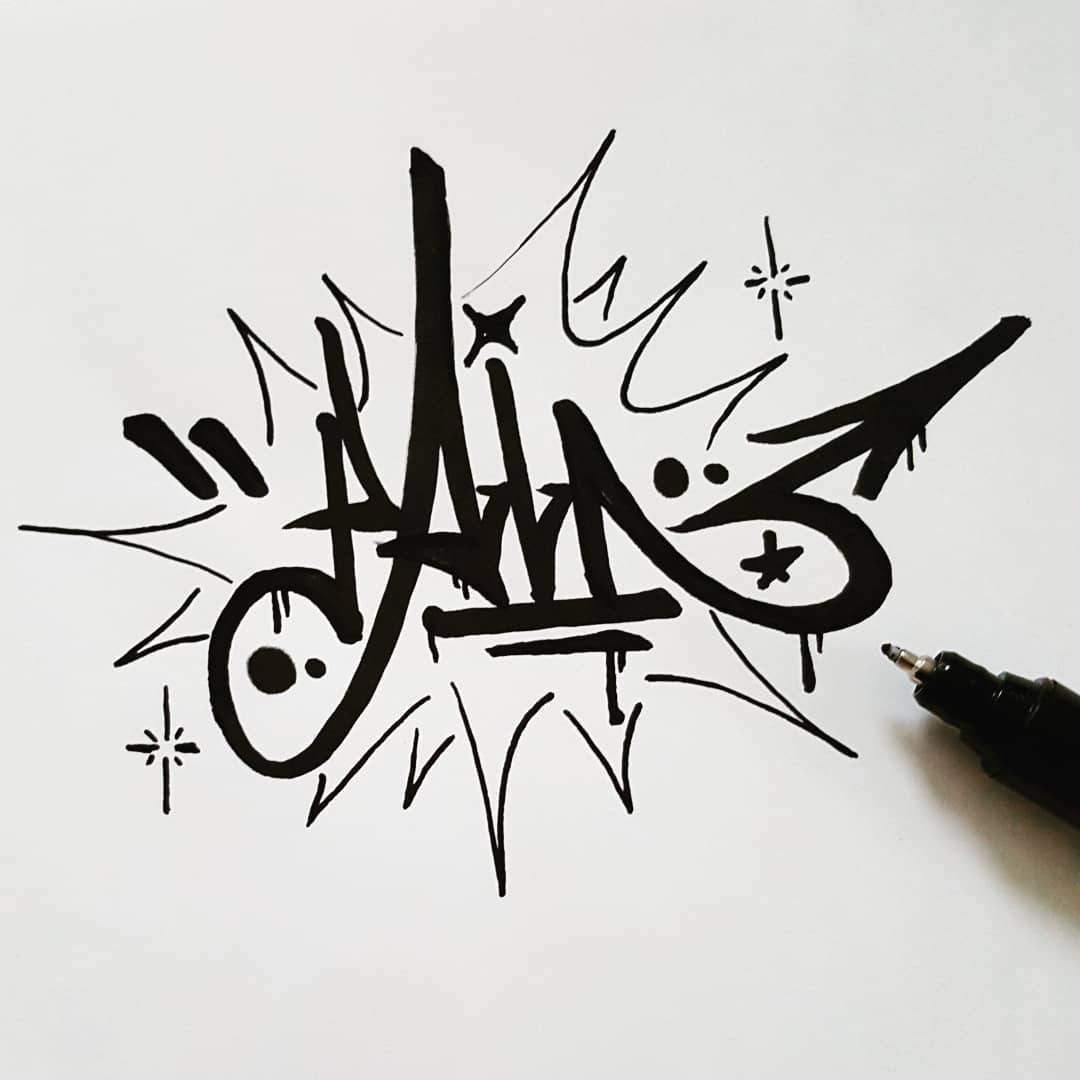 Pain - handstyle